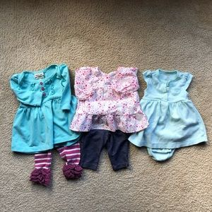 Baby Girl's 3 Mth Outfit Lot Set
